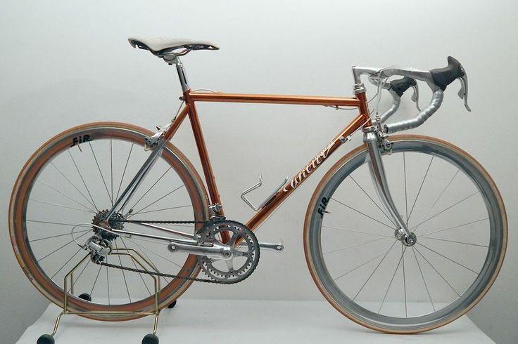 Italian Vintage Professional Road Bike Wilier Triestina
