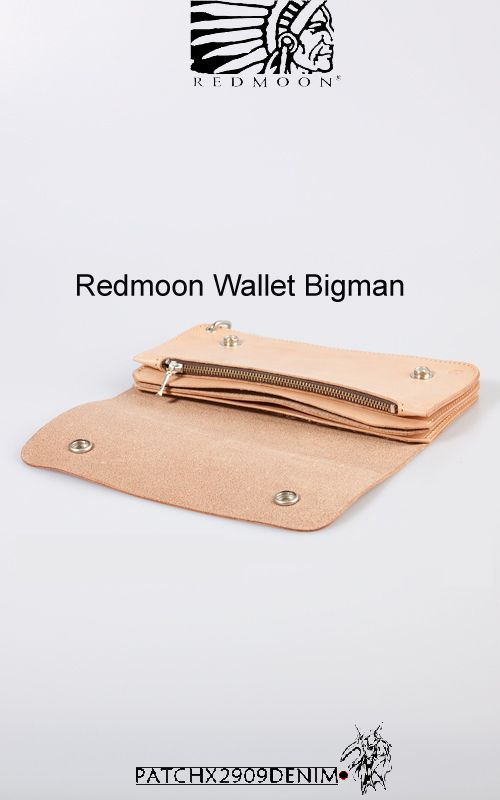 REDMOON WALLETS - Patchx2909denim-SR