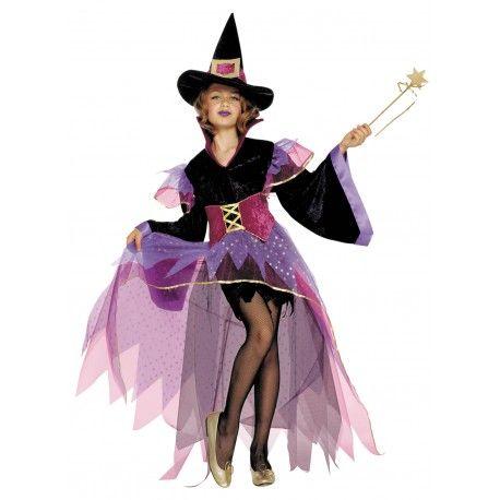 Buscas un disfraz de alta calidad para niña de Joven Bruja?. Disfraces infantiles para niña para Fiestas Temáticas, Carnaval, Halloween, Navidad, o Cumpleaños.