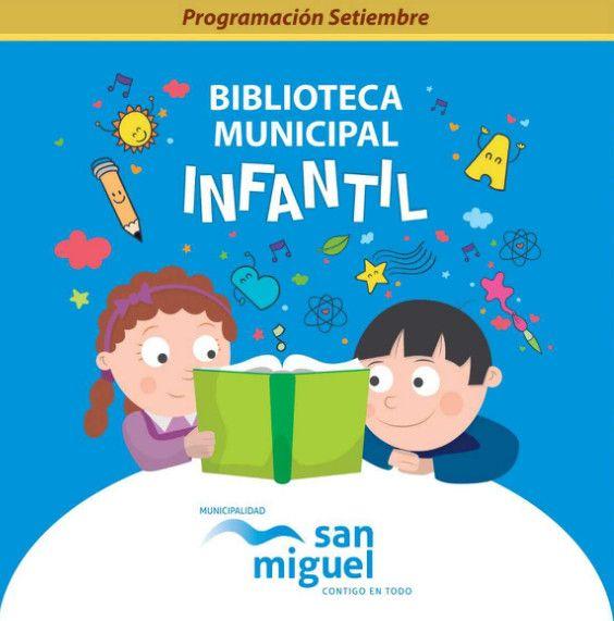 Folleto Taller de lectura entretenida para niños - Biblioteca infantil de San Miguel, Lima