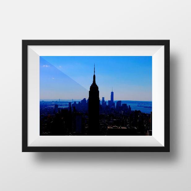 #newyork #photography #blue #skyline #topoftherock #rockafellacentre