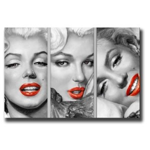 "Marilyn Monroe canvas art print picture 20""X30"" standard framed and ready to hang"