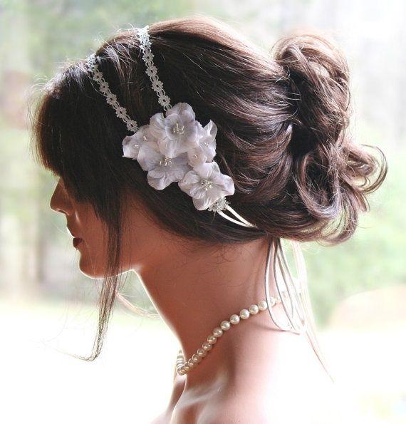 Wedding Hairstyles Headband: 332 Best Wedding Hairstyles / Fryzury ślubne Images On