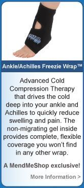 Ankle sprain treatment and pulled achilles treatment without surgery