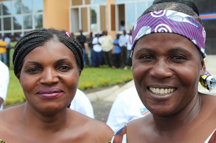 Mama Jeanette og Mama Jeanne leder hvert sitt mottakssenter i Goma og Masisi hvor voldtatte kvinner og barn får hjelp