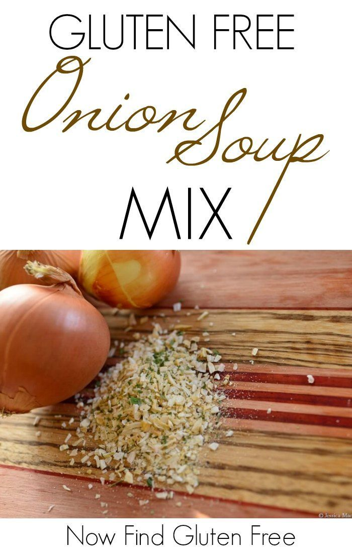 This is a great recipe for Gluten Free Onion Soup Mix. The one thing missing in the recipe is beef bullion. So, you need to use some kind of beef stock or bullion when using the recipe for roasts and briskets, etc. It is delicious as-is, just as a seasoning.   Homemade Onion Soup Mix   Gluten Free Onion Soup Mix Recipe   Recipe for Onion Soup Mix   Gluten Free Seasonings   Homemade Gluten Free Seasonings    Now Find Gluten Free