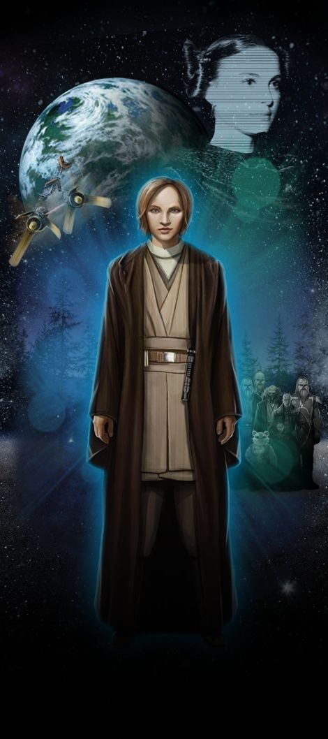 Je viens tout juste de visiter STAR WARS Identies : L'Exposition. Fais connaissance avec mon Héros Star Wars,  Madeleine, une Humaine chevalière Jedi de Endor!