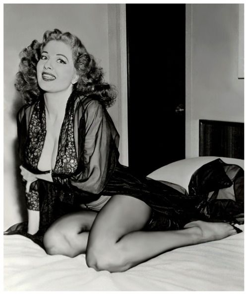 Tempest Storm (aka. Annie Blanche Banks) More Tempest pics can be found here..