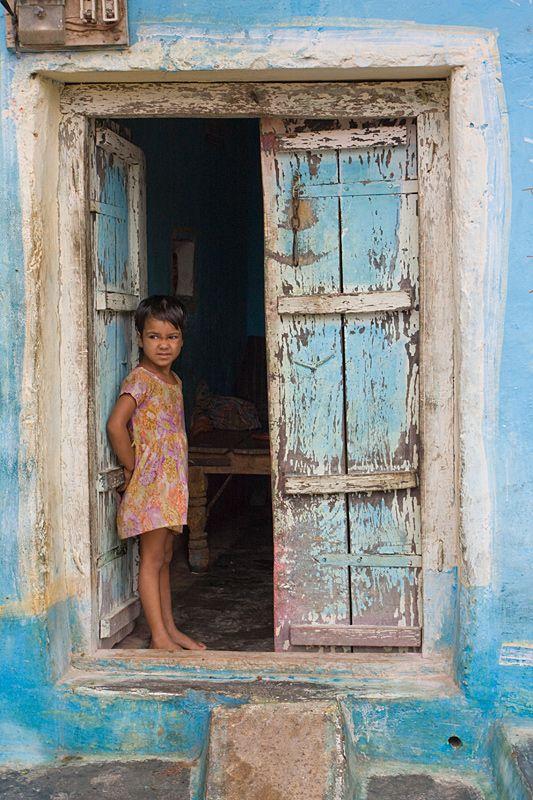Children of Khajuraho - Khajuraho, Madhya Pradesh