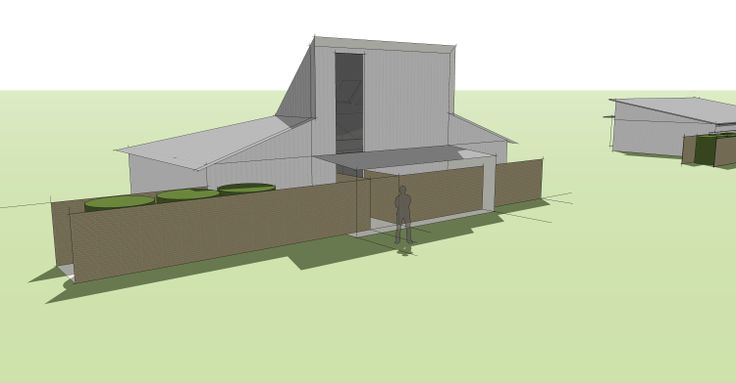 Proposal for a timber eco holiday house, Hermanus , South Africa.