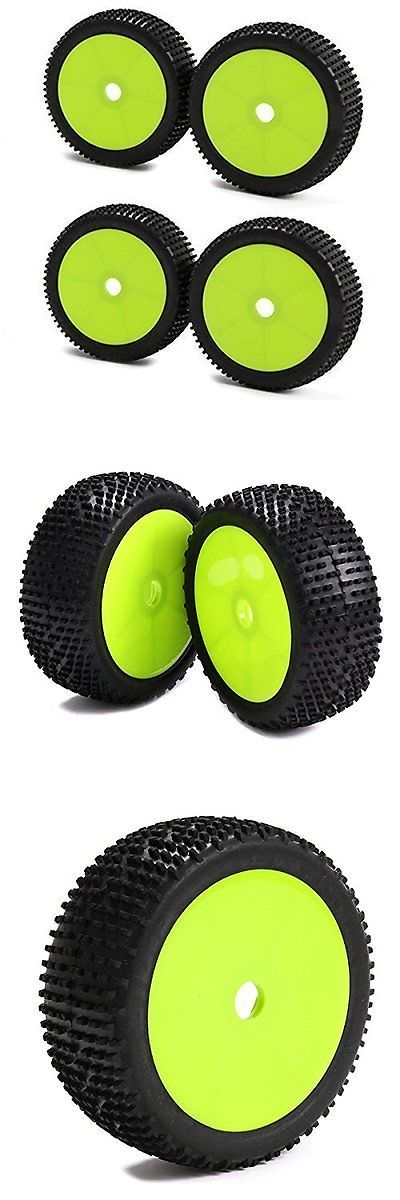 Wheels Tires Rims and Hubs 182201: Skyq 17Mm Hub Wheel Rims And Tires For 1:8 Off-Road Rc Car Buggy Green Pack Of 4 -> BUY IT NOW ONLY: $33.95 on eBay!