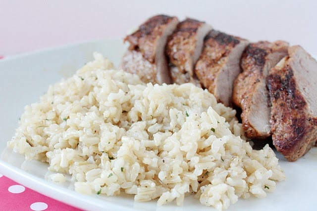 parmesan lemon brown rice. | what's for dinner | Pinterest