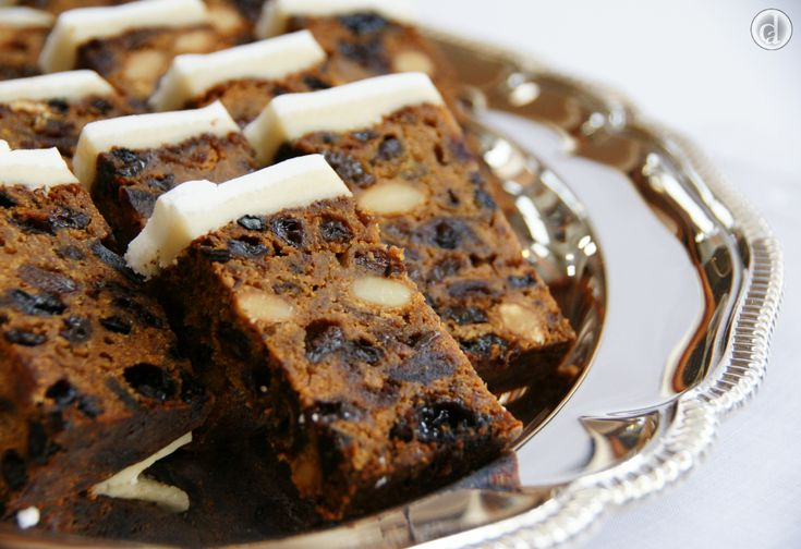 Deliciously dark Double Brandy gluten free Fruitcake. One of the hardest things with this recipe is determining how big a cake you are going to make.