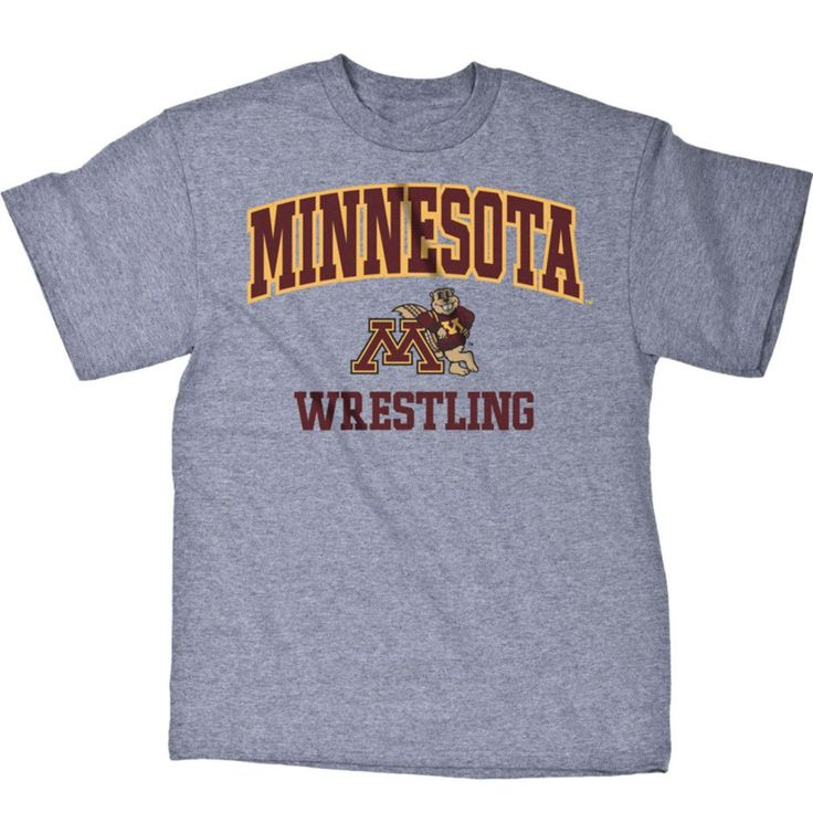 J America University of Minnesota Wrestling T Shirt