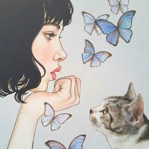 "Order work. # Illustration # Portrait # Cat Illustration # Cat # Cat # ca …  – ""Katzentiere"""