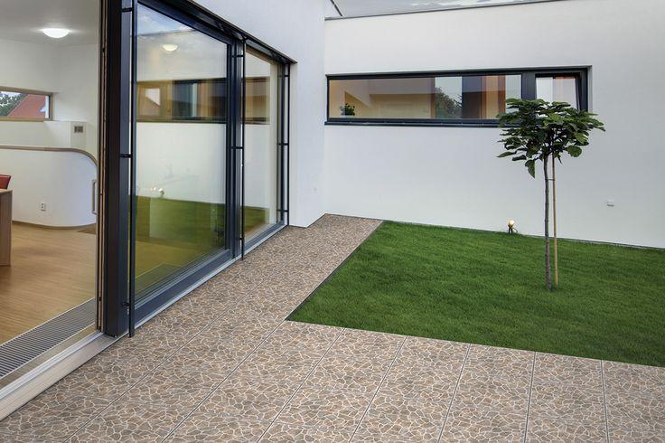 Estilo y calidad la combinaci n perfecta para el piso de for Pisos para cocheras y patios
