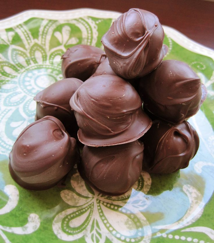 Chocolate Peanut Butter Balls, the treat that puts Reeses to shame!