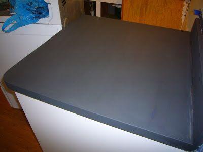 Countertop Chalk Paint : Decor & Harmony: Kitchen Countertops - chalk paint Home - Kitchen ...