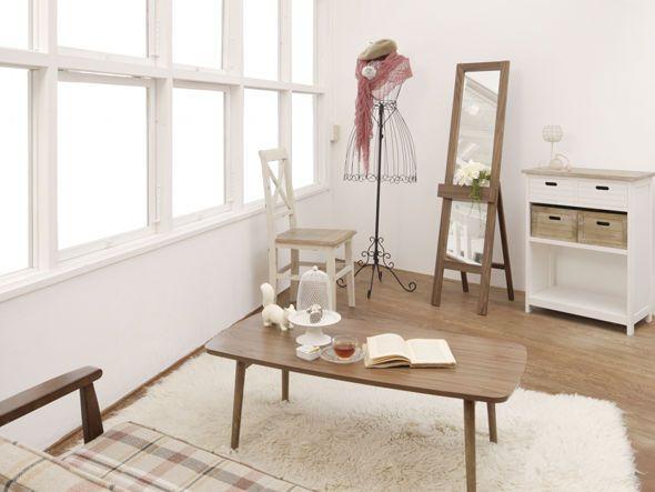 FLYMEe RoomFOLDING LIVING TABLE W105/フライミールーム折りたたみ式リビングテーブル 幅105 f15509_3