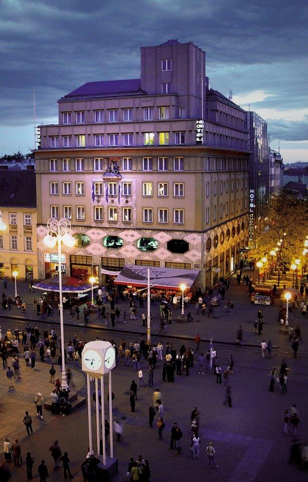 Hotel Dubrovnik, Zagreb.