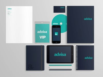 Advisa branding concept by Michael Dupé