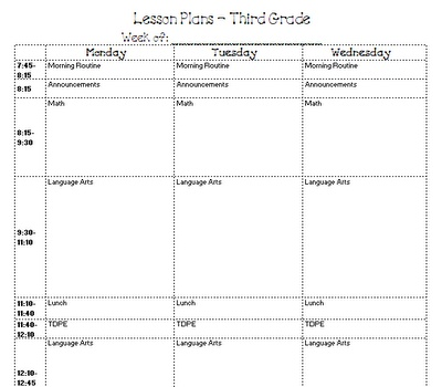 lesson plan templates for elementary Minimfagencyco – Lesson Plan Samples For Elementary
