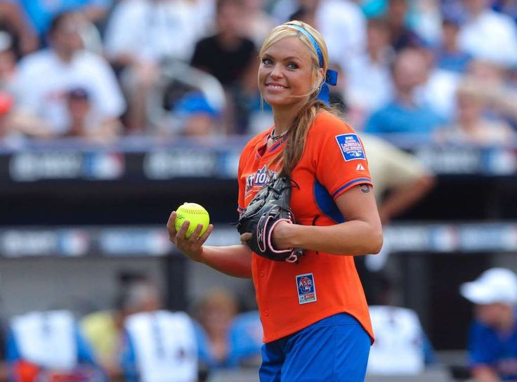 MLB to host its first girls' baseball tournament  -  April 6, 2017:      Image:  Jennie Finch is an Olympic gold medalist.