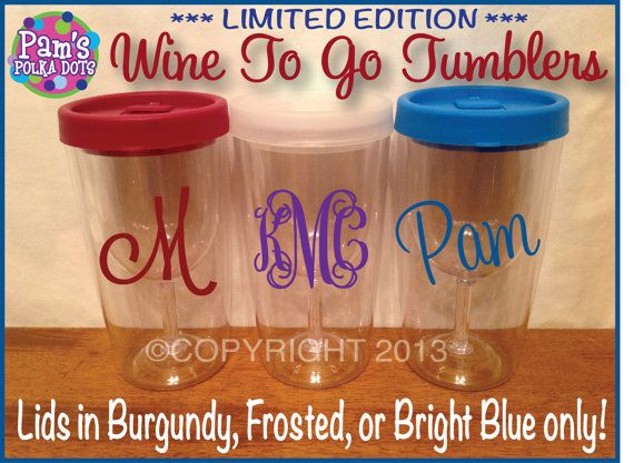 Personalized Wine To Go Wine Limited Edition By