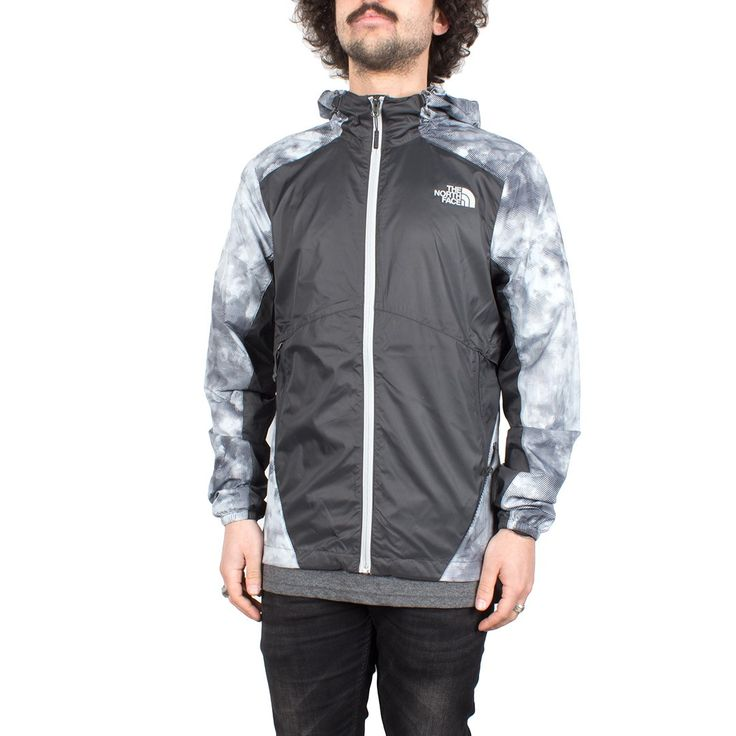 Giacca a vento uomo The North Face Flyweight Hoodie Asphg