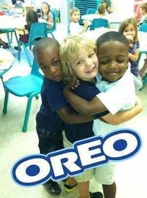 Human Oreo | TrendUso #human #humans #people #person #oreo #funny #hilarious #meme #memes #memesdaily #humor #humour #humorous #kid #kids #child #children