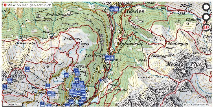 Arosa GR Wanderwege Karte trail http://ift.tt/2xeWB9C #infographic #GeoSpatial