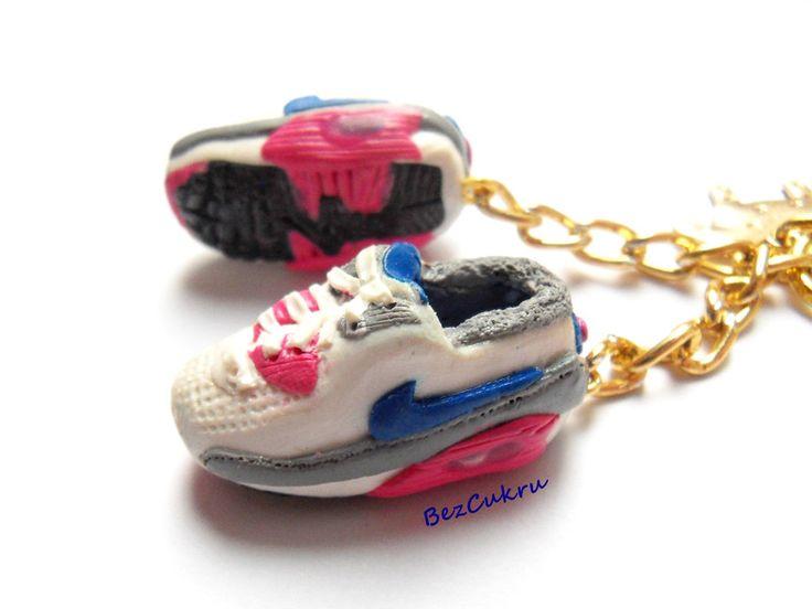 Brelok Air Max Nike - para - od BezCukru w BezCukru - biżuteria z charakterem na DaWanda.com
