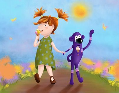 """Check out new work on my @Behance portfolio: """"Best frends"""" http://be.net/gallery/50382545/Best-frends"""