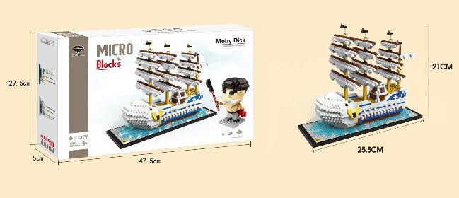 GEM micro building blocks ship