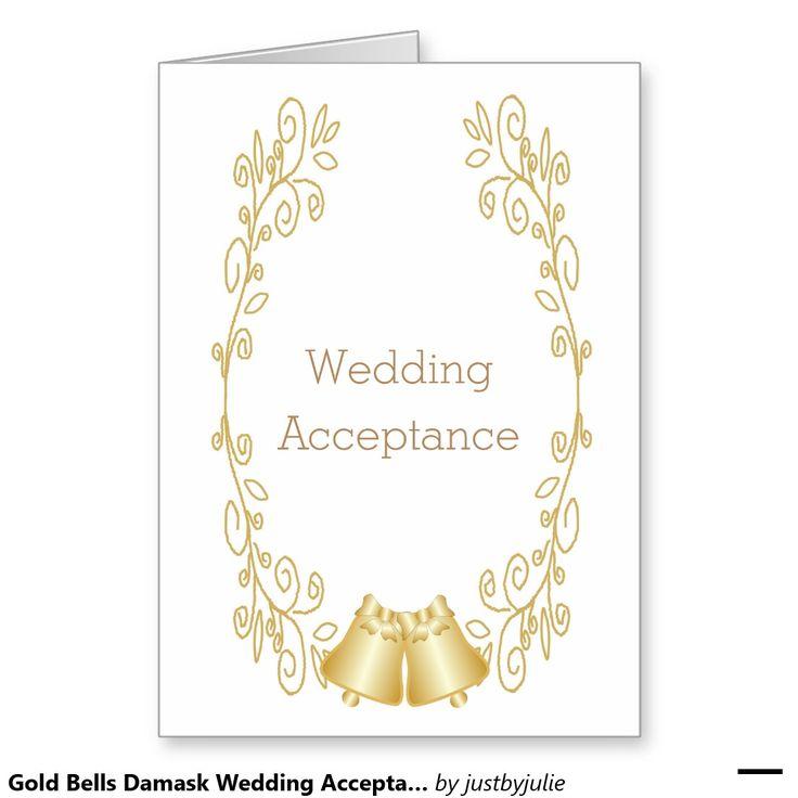 Wedding Bell Sayings: Best 25+ Wedding Acceptance Card Ideas On Pinterest