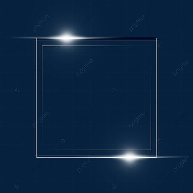 Light Effect Square Frame Light Box Effect Color Light Png Transparent Clipart Image And Psd File For Free Download Love Background Images Light Blue Background Christmas Lights Background