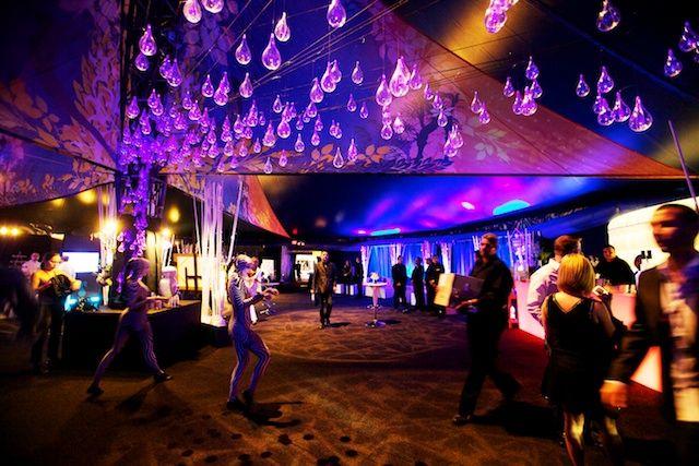 One Drop premiere Miami 2010 - Set design by Ian Routhier. © Cirque du Soleil