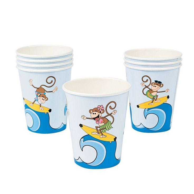 Beach Monkey Cups