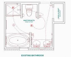 Delightful Master Bathroom Layout   Design Tips Renovating Lake Anne Townhomes.  Relocated Master Bedroom Overlook Lake Enlarged Bathroom This Was Easily  Done.