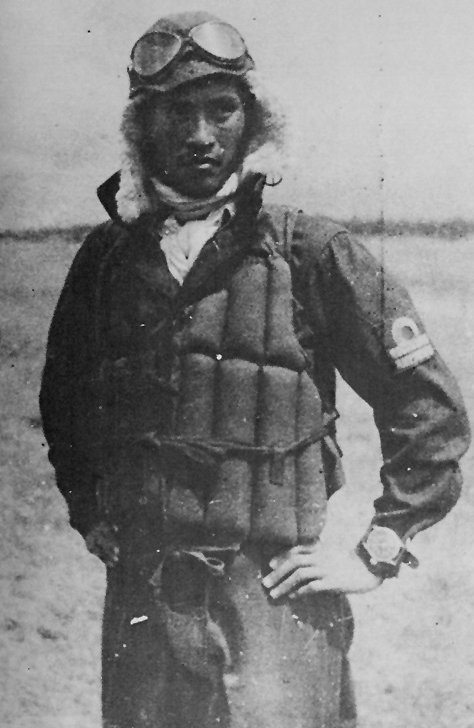 Yukio Seki probably before his last flight on 25 Oct 1944