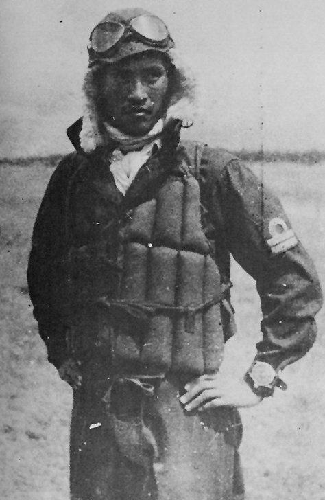 Yukio Seki probably before his last flight on 25 Oct 1944 ~Repinned Via Motomu Hatanaka