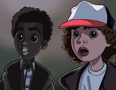 "Check out new work on my @Behance portfolio: ""Stranger Things Fan Art 2""…"