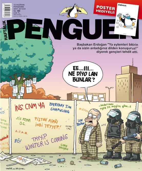 "Twitter / penguendergi: #Penguen #560 ""Ya eylemleri ..."