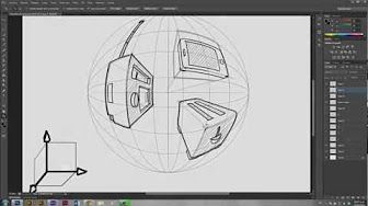 perspectiva tutorial - YouTube