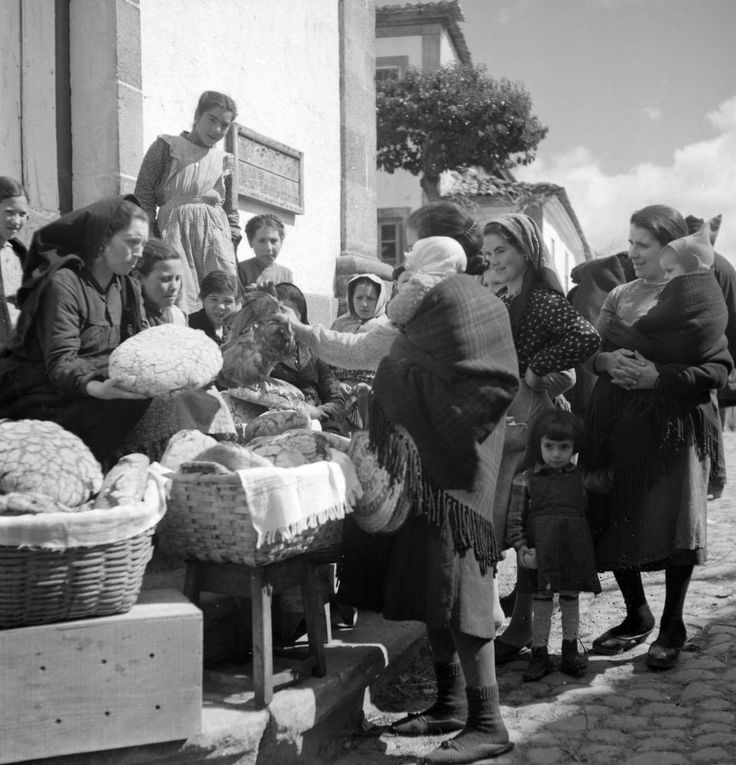 Artur Pastor - Beira interior, mercado. Década de 50.