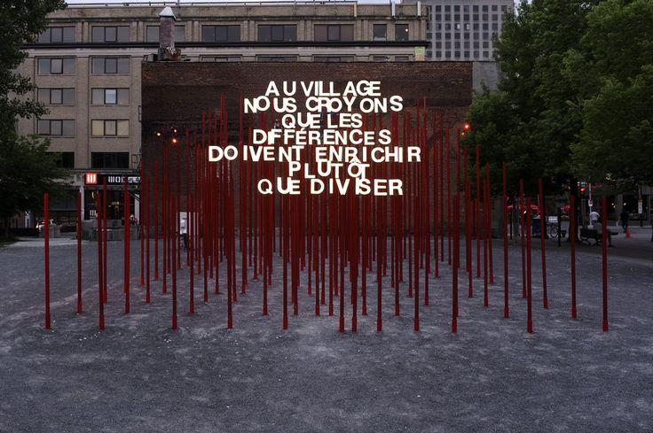 2012 MONTREAL - 5th Annual Creative Spaces Event (22) / Claude Cormier architecte et Gilles Arpin éclairagiste