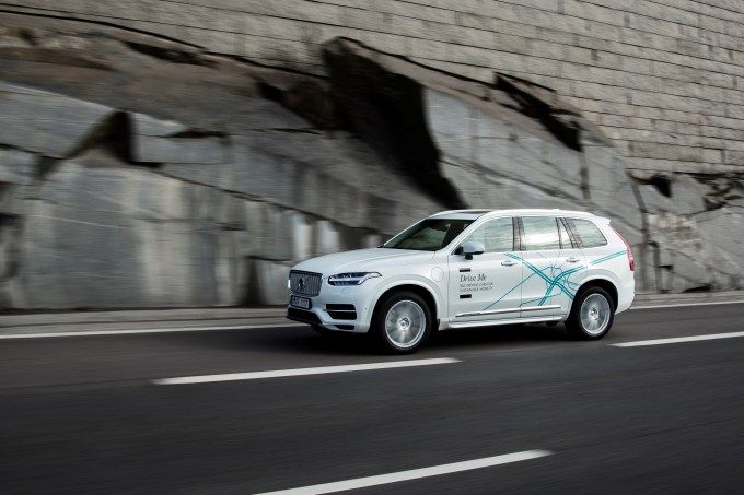 Uber and Volvo put $300M into building self-driving cars ready for sale by 2021