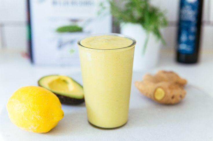 Mango- och avokadosmoothie