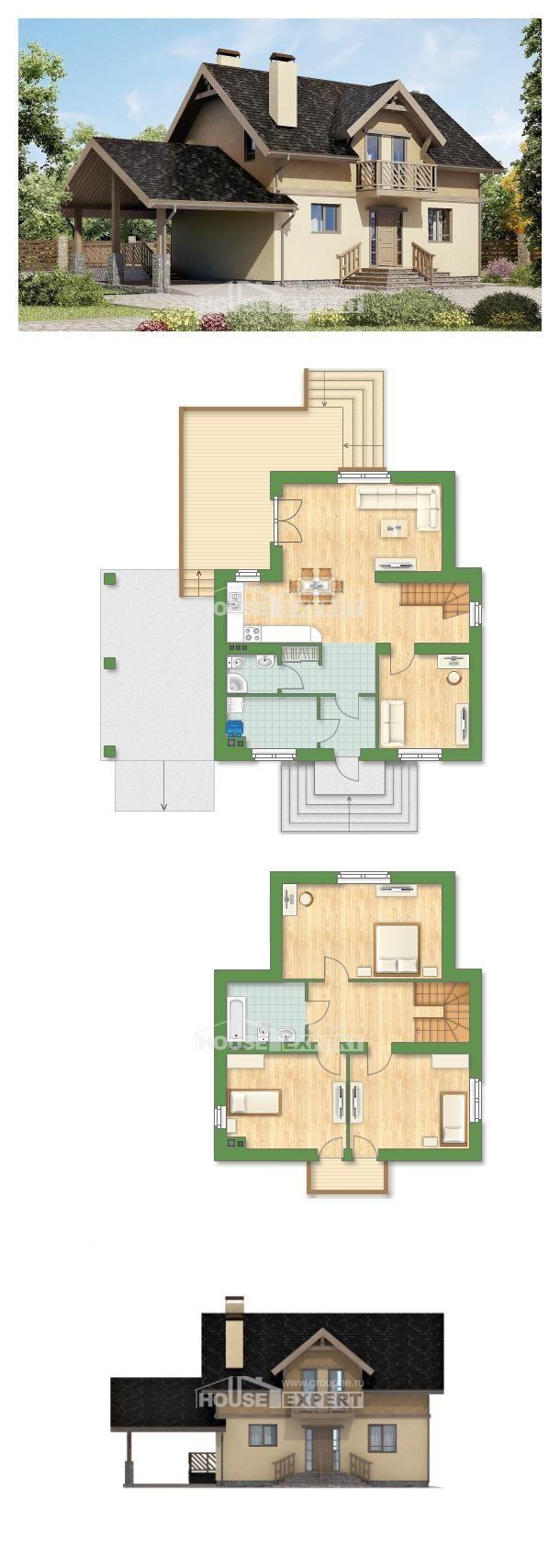 Ev villa projesi 150 011 L House Expert