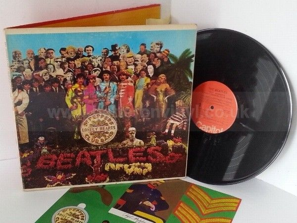 THE BEATLES sgt peppers lonely hearts club band US PRESSING, includes cut out, SMAS 2653 - ROCK, PSYCH, PROG, POP, SHOE GAZING, BEAT